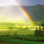 Как образуется радуга ?
