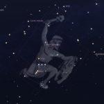 В течение каких месяцев можно увидеть Орион ?