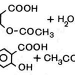 Какова точка плавления ацетилсалициловой кислоты ?
