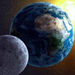 Что больше солнце, луна или земля ?