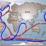 Что вызывает океанские течения?