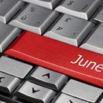 Сколько дней в июне?