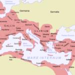 Когда обосновалось Римская империя?