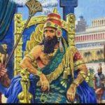 Некоторые факты о жизни царя Навуходоносора II?
