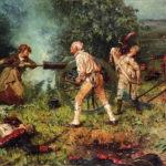 Почему произошла битва при Монмуте?