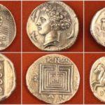 Как назывались древнегреческие монеты?