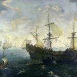 На каком корабле плыл Васко Нуньес Де Бальбоа?