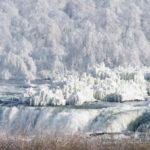 Насколько холодно было, когда Ниагарский водопад замерз в 1932 году?